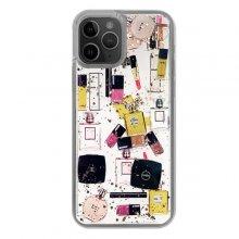 کاور دکین مدل آکواریومی طرح لوازم آرایش مناسب برای گوشی موبایل اپل iPhone 11 Pro Max